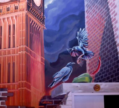 peinture-murale-fresque-riorges-restaurant
